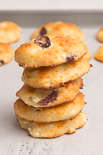 Cottage Cheese and Cranberries Cookies