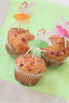 Almond Milk and Raspberries Muffins